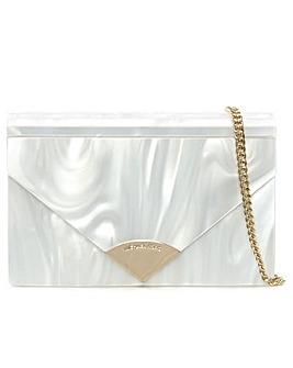 Michael Kors Acrylic Envelope Clutch Bag