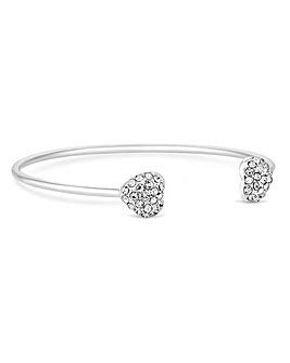 Lipsy Crystal Heart Bracelet