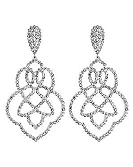 Lipsy Crystal Filigree Earring
