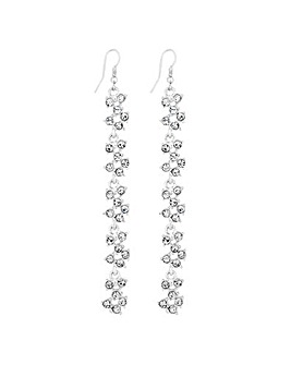 Lipsy Crystal Cluster Earring