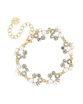 Lipsy Crystal Hoop Bracelet