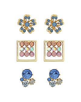 Lipsy Multi Shape Earring Set
