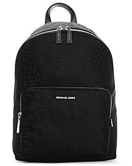Michael Kors Nylon Star Print Backpack