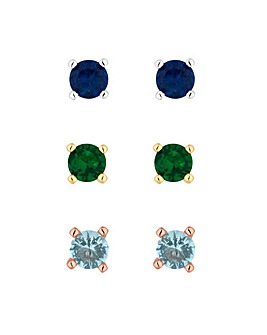 Jon Richard Stud Earring Set