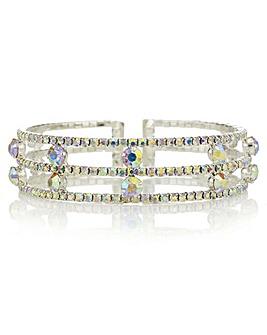 Mood Aurora Borealis Crystal Bracelet