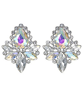Mood Crystal Cluster Earring