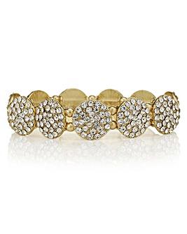 Mood Pave Disc Bracelet