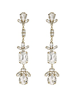 Mood Crystal Mixed Shape Drop Earring