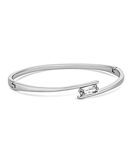 Jon Richard Square Cross Over Bangle