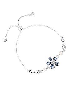 Alan Hannah Flower Toggle Bracelet
