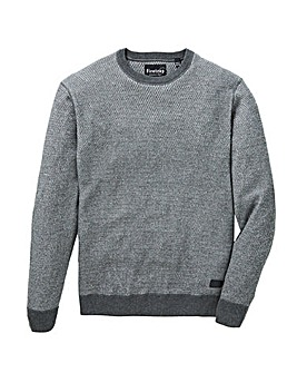 Firetrap Alban Crew Neck Knit Jumper