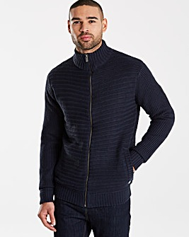 Firetrap Duffin Knit Zip Thru