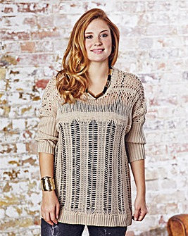 Jeffrey & Paula Ladder Stitch Jumper