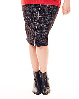 Jeffrey & Paula Jersey Pencil Skirt