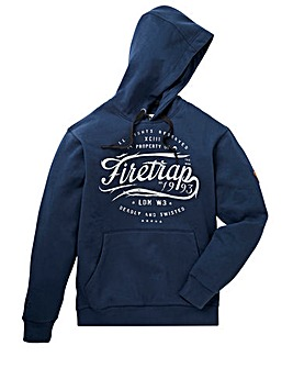 Firetrap Max Hooded Sweat Long