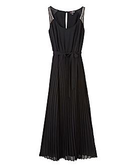 Lovedrobe Pleat Maxi Dress