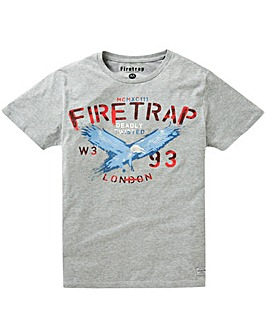 Firetrap Hiran T-Shirt Long