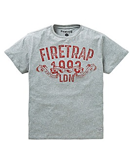 Firetrap Booka T-Shirt Long