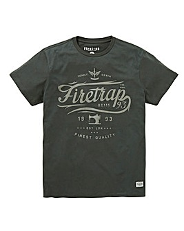 Firetrap Fransisco T-Shirt Long