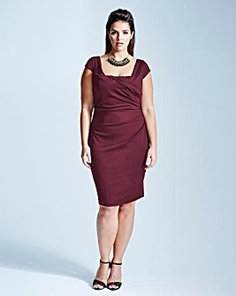 Coast Alva Scuba Dress