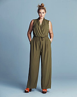 Lovedrobe Wrap Jumpsuit