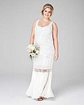 Lovedrobe Luxe Beaded Tassel Dress