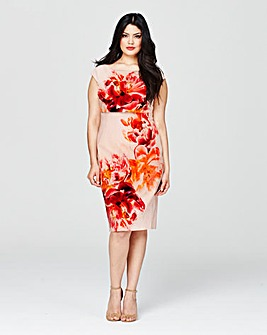 Coast Print Lucille Dress