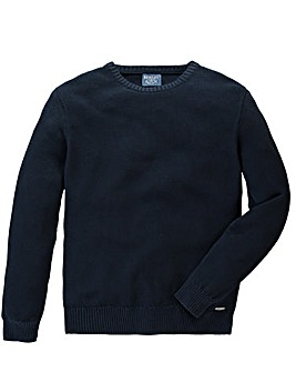 Bewley & Ritch Helter Cotton Crew Knit