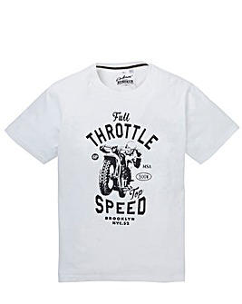 Jacamo Styles Graphic T-shirt Reg