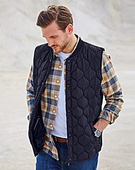 WILLIAMS & BROWN Quilted Gilet