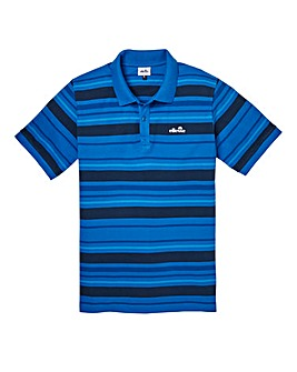 Ellesse Novazzi Stripe Polo Long