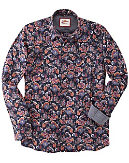 Joe Browns Vintage Print Western Shirt L