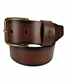 Souled Out Brown Casual Belt