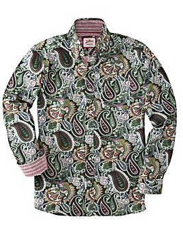 Joe Browns All About Paisley Shirt Reg