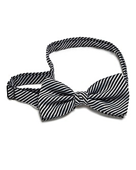 Kensington Stripe Bow Tie
