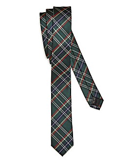 Kensington Skinny Tartan Check Tie