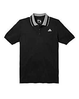 adidas Black Essentials Polo