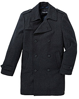Black Label Herringbone Trench Coat R