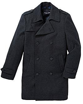 Black Label Herringbone Trench Coat R