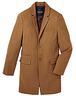 Black Label Wool Smart Coat Regular