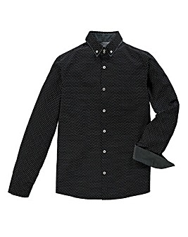 Black Label Cadenza Printed L/S Shirt L