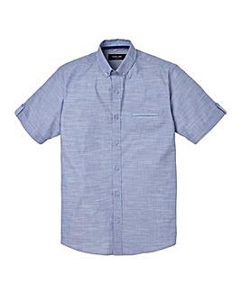 Black Label Apollo Marl Fabric Shirt L