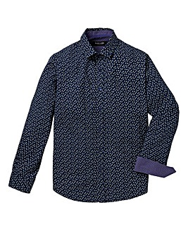 Black Label Kingston Print L/S Shirt L