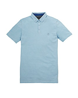 Black Label Holmes Marl Pique Polo L