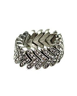 Lizzie Lee V Shape Ring