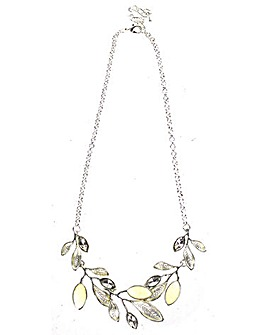 Lizzie Lee Multi Leaf Effect Necklace