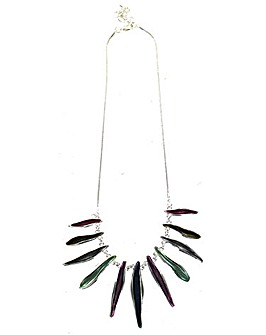 Lizzie Lee Enamel Bar Necklace
