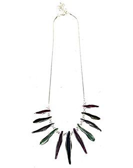 Lizzie Lee Enamel Bar Necklace