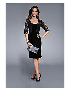 Together Velour Lace Dress