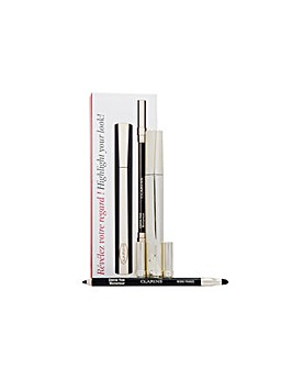 Clarins Mascara  Eye Pencil Set